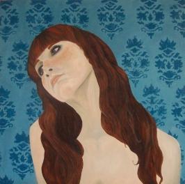 freckles II  60 x 60 cm  Óleo sobre tela  2009