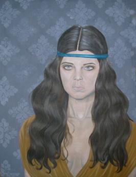 Headband  60cm x 80 cm  Óleo sobre tela  2010